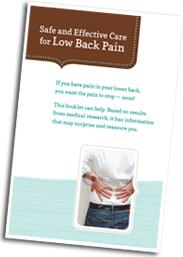 Quality Corp Low Back Pain